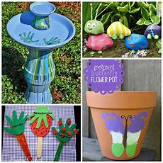 12 Super Cute Garden Crafts For Kids  Fun In The Sun