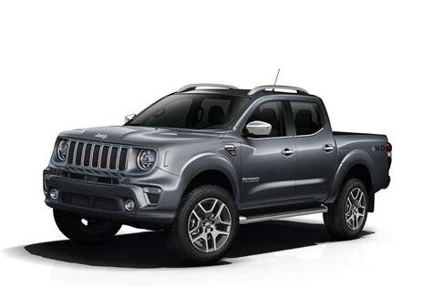 jeep renegade pickup truck rendered  isuzu  max  cross rival