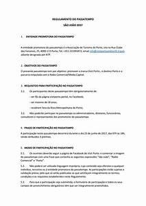 Regulamento do Passatempo São João 2017 by Portal de ...