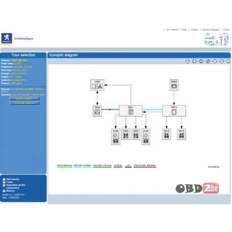 Peugeot 206 Wiring Diagram Software by Peugeot Wiring Diagrams Peugeot Car Service Repair