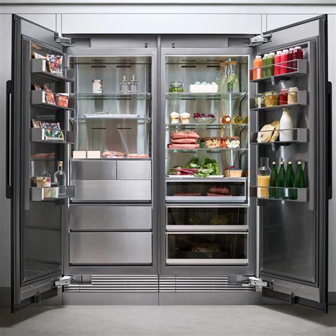 drrlap dacor modernist  column fridge panel