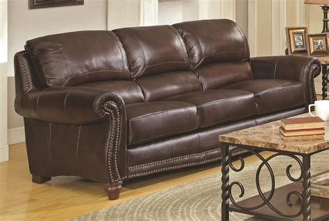 Italian Leather Sofas For Sale by Montblock Genuine Leather Sofa Collection
