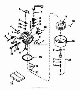 34 Craftsman Leaf Blower Carburetor Diagram