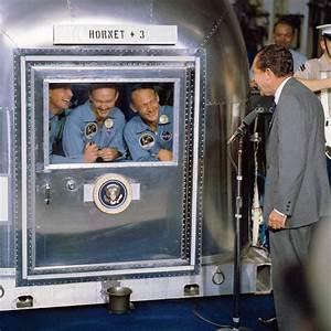 Apollo 11 Crew In Quarantine   NASA