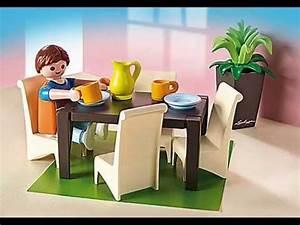 presentation collection playmobil 2014 maison de ville With salle a manger playmobil 5335