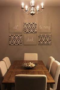 1000 ideas about dining room decorating on pinterest for How to decorate walls with art