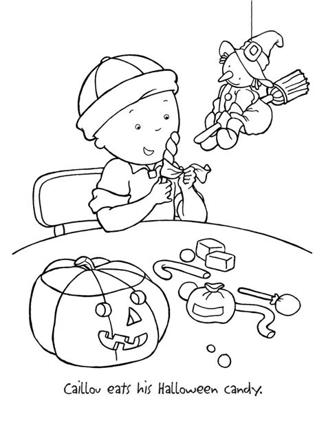 Caillou Printable Coloring Pages Free Printable Caillou Coloring Pages For