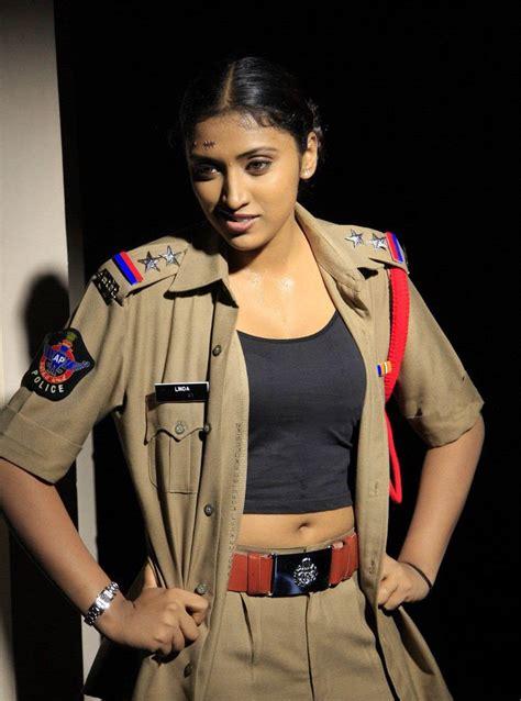 Hot Sexy Actress Posing In Tight Police Uniforms