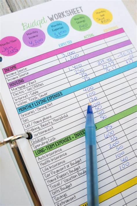 monthly bill organizer notebook les 25 meilleures idées concernant planificateur de budget