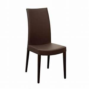 Chaise de salle a manger contemporaine en bois et for Salle À manger contemporaine avec chaises bois paillées salle manger