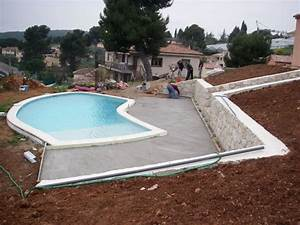 amenager sa piscine wz13 jornalagora With terrasse piscine semi enterree 3 comment amenager les alentours de sa piscine semi enterree