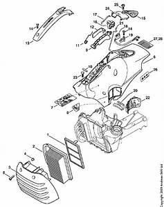 Stihl Br 400 Parts Diagram