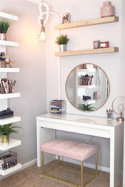 makeup vanity table ideas  assist  makeup routine