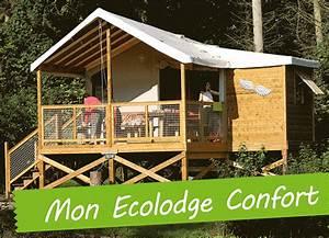 ecolodge sur pilotis dans un camping 4 etoiles avec With camping picardie avec piscine couverte 5 camping en baie de somme avec piscine et prestations haut
