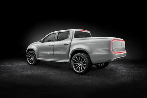 mercedes pickup mercedes benz unveils luxury pickup truck