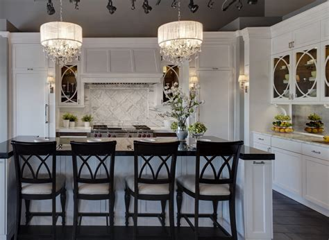 crystal chandeliers add glamour   home decor
