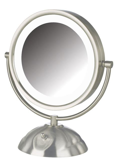lighted makeup mirror amazon amazon com jerdon hl8505nl 8 5 inch led lighted vanity