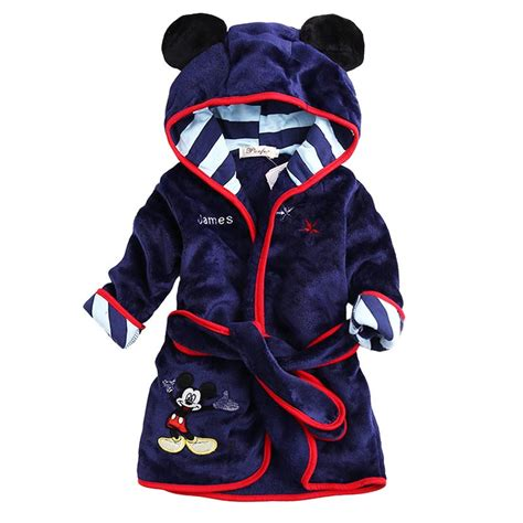 robe de chambre enfants sale children hooded bathrobe towel baby boys