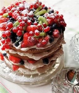 Torte Mit Früchten : 1001 ideen f r rote gr tze kuchen mit fr chten ~ Lizthompson.info Haus und Dekorationen