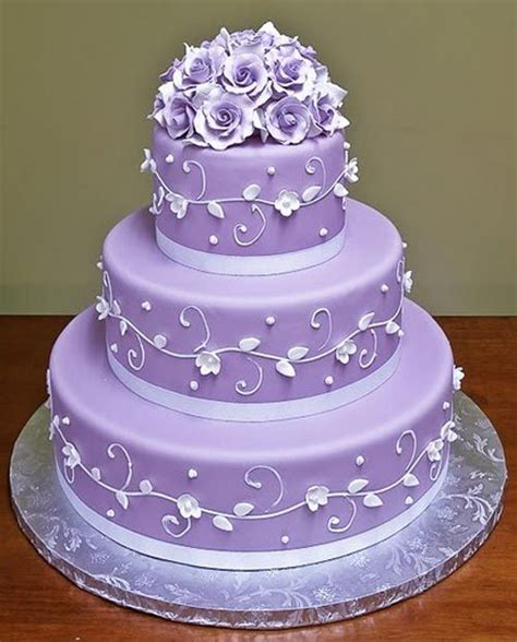 Purple Cake Decorating Ideas - top 25 ideas about purple wedding cakes on