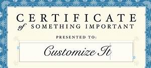 pin free printable attendance certificate templates about With certificate templates for pages