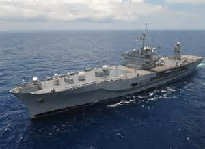 Blue Ridge Navy Ship