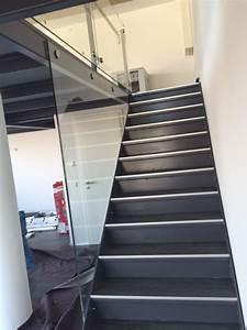 Treppe Mit Glasgeländer : treppe glasgel nder demelt metallbau und stahlbau gmbh ~ Sanjose-hotels-ca.com Haus und Dekorationen