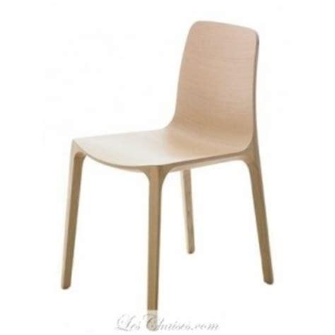 chaise en bois design chaise bois design frida par pedrali et chaise design bois