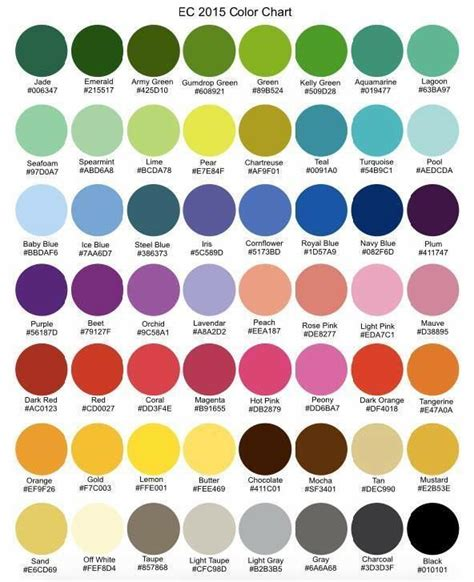 c color from hex erin condren color hex codes search