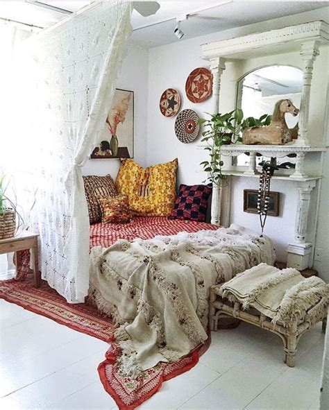 Boho Bedroom Decor Us On Bohemian Room Decor Ideas Bohemi