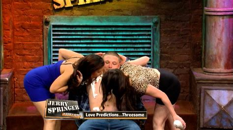 Sexy Threesome On The Jerry Springer Show Youtube