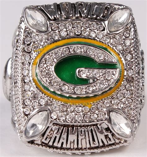 Aaron Rodgers Packers High Quality Replica 2010 Super Bowl