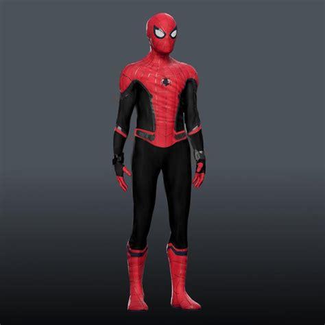 spider man   home  suit marvelstudios