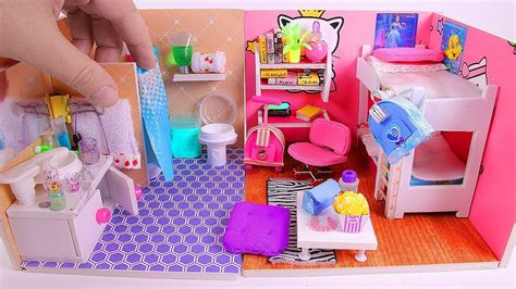 5 Diy Miniature Dollhouse Rooms