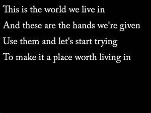 Lyrics to ten thousand fists