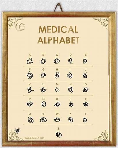 Alphabet Medical Doctor Humour Funny Humor Doktora