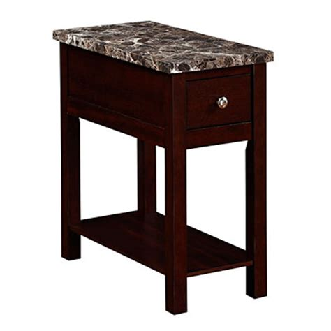 big lots faux marble table espresso finish faux marble chairside table big lots