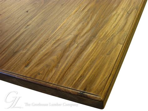 Walnut Wood Counter Hand planed in Madison, Wisconsin