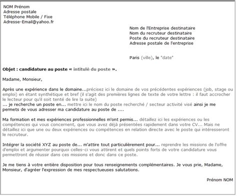 Lettre De Cv by Lettre De Motivation Booste Ta Candidature