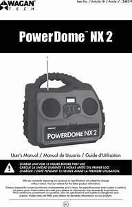 Wagan El2485 Power Dome Nx2 User Manual Manual