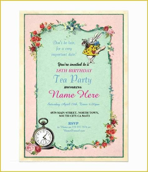 18th Birthday Party Invitation Templates Free Of 14 18th