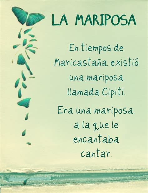 """Susurrando Poemas Cuentos Cortos """"la Mariposa"""""""