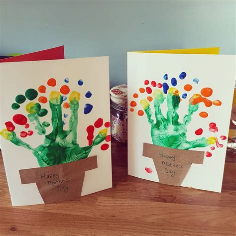 creative mothers day crafts  leave  mom