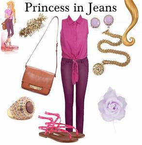 Modern Disney Princess Outfits | ... rapunzel disney ...