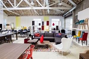 Furniture stores new modern store showroom in los angeles for Cool furniture and home decor stores