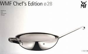 Wmf Chef Edition : wmf wokpfanne 28 cm chef 39 s edition edelstahl wok induktion ~ Whattoseeinmadrid.com Haus und Dekorationen