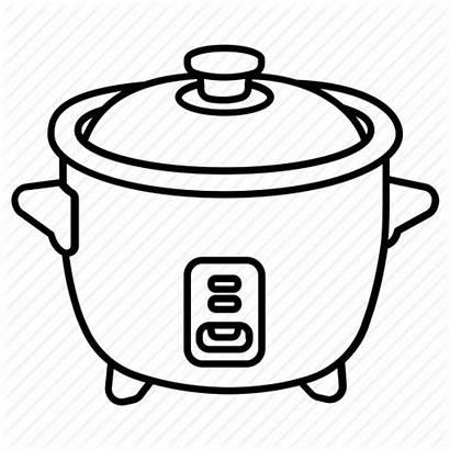 Rice Pot Crockpot Cooking Clip Cooker Drawing