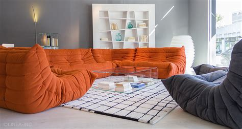 roset sofa togo togo by ligne roset modern sofas linea inc modern furniture los angeles