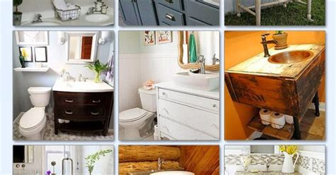 bathroom vanity inspiration idea box by pretty distressed