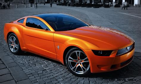 2006 Giugiaro Ford Mustang Concept Was Ringer Vs In House